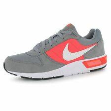 Nike Nightgazer Trainers Mens Grey/White/Red Casual Sneakers Shoes Footwear
