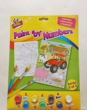 Children's Painting By Numbers Junior Series Creative Toys Activities Art Age 3+