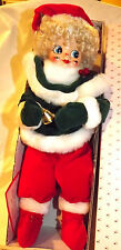 Vintage Brinn's Posable Doll 1986  Limited Ed. December Elf Clown original Box