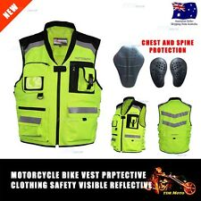 Safety Reflective Vest Night Running Cycling Sport Bicycle Motorcycle Dirt Bike