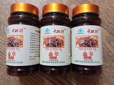 3 bottles Cordyceps Sinensis Concentrated Capsule Cleaner Lung Improve Immunity