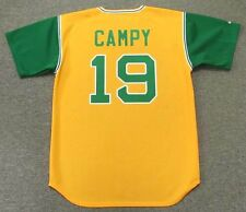 BERT CAMPANERIS Oakland Athletics 1969 Majestic Cooperstown Baseball Jersey