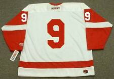 GORDIE HOWE Detroit Red Wings 1960's CCM Throwback Away NHL Hockey Jersey