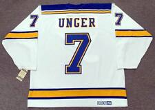 GARRY UNGER St. Louis Blues CCM Vintage Throwback Away NHL Hockey Jersey