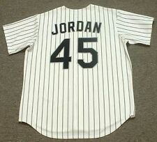 MICHAEL JORDAN Chicago White Sox 1994 Majestic Throwback Home Baseball Jersey