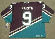PAUL KARIYA Anaheim Mighty Ducks 2003 CCM Throwback Away NHL Hockey Jersey