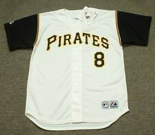 WILLIE STARGELL Pittsburgh Pirates 1966 Majestic Throwback Home Baseball Jersey
