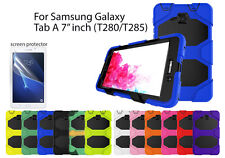"""For Samsung Galaxy Tab A 7"""" Heavy Duty Shock Proof case/Screen Protector"""