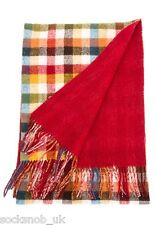 Mens Viyella Ultimate Luxury class Wool and Cashmere Scarf, Gift, tartan / check