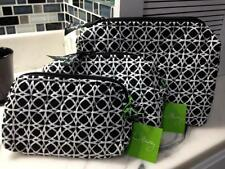 VERA BRADLEY COSMETIC BAG SMALL MEDIUM LARGE *NIGHT & DAY GEO* Geometric NWT