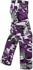 Mens Pants - Military BDU, Ultra Violet Camo PURPLE CAMO by ROTHCO XS TO 3X