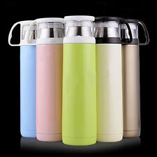 500ML Stainless Steel Thermos Mug Vacuum Insulated Travel Tumbler Coffee Tea Cup