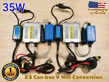 HIGH BEAMS H7 35W X3 CANBUS HID Xenon No Error Slim KIT FOR PACIFICA RANGE ROVER