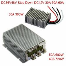 DC36V48V Step Down 12V 30A 50A 60A Power Supply Converter Module Waterproof