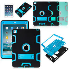 Shockproof Heavy Duty Rubber With Hard Stand Case Cover For iPad Mini 1 2 3+Pen