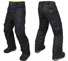 M3 Griffin Black Mens Ski Snowboard Pants NEW
