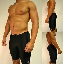 TYR Sport Men's Solid Jammer Swim Suit Competition Performance Spandex Shorts