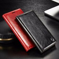 Luxury Flip Leather Wallet Card Holder Stand Case Cover For Sony Xperia Z3/Z4/Z5