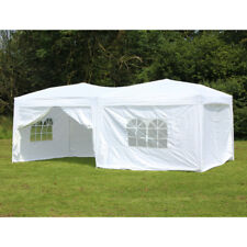 10 x 20 Palm Springs Pop Up Canopy Gazebo Party Tent with 6 Side Walls New
