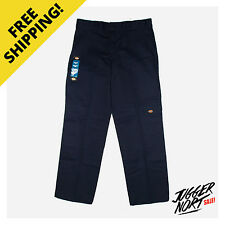 DICKIES Double Knee Work Pants WP852 Dark Navy - Authentic - FREE Postage