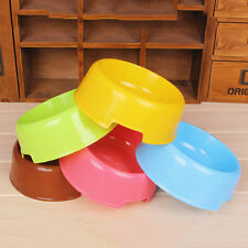 Travel Puppy Pet Water Dish Lovely Food Bowl Feed Tool Dog Plastic Feeder Dishes