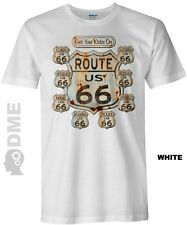 Get Your Kicks On US Route 66 Classic Americana T-Shirt