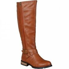 Brinley Co. Womens Round Toe Zipper Detail Boots. Shipping Included