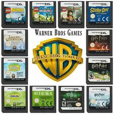 Multi✿ Nintendo DS DSi XL 2DS 3DS ●● ALL WARNER BROTHERS CHARACTER GAMES ●●