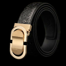 Cool Dress Belt Men Genuine Leather Belt Designer Belts Waist Strap Ratchet belt