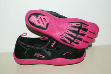 FILA Skele-toes Womens Size 6 New Black Pink EZ Slide Barefoot Running WaterShoe