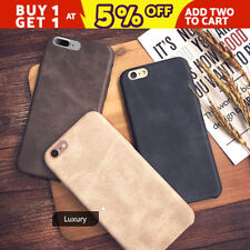Luxury Ultra-thin PU Leather Back Skin Case Cover For Apple iPhone 7 7 6 6S Plus