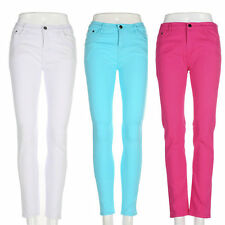 Fashion Women Sexy Stretch Candy Pencil Jeans Casual Pants Skinny Trousers TJ