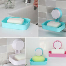 New Toilet Suction Cup Holder Bathroom Shower Soap Dish Soap Dish Wall Tray