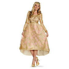 Disney Maleficent Princess Aurora Coronation Gown Deluxe Woman Costume