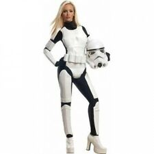 Star Wars Stormtrooper Women's Adult Halloween Costume. Delivery is Free