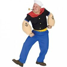 Popeye Adult Halloween Costume. Shipping is Free