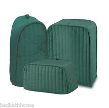 NEW Ritz Quilted Solid Hunter Green Appliance Cover