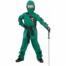 Green Ninja Child Halloween Costume. Shipping Included