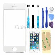 Front Screen Glass Lens Replacement Repair Kit For iphone 5 5S SE Tools White