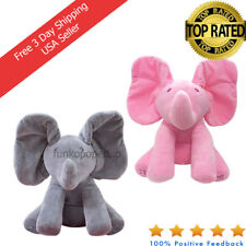 Peek A Boo Elephant Choose Your Color For Kids Cartoon Christmas Baby Toy