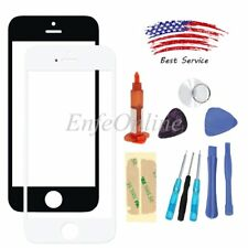 Front Touch Screen Glass Lens Replacement Repair Kit For iphone 5S Tools UV Glue