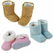 Baby Infant Toddler Boys Girls Warm Winter Fur Snow Shoes Boots 9-24 Month EFFU