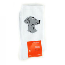 Socks with dogs Weimaraner dog embroidered portrait Dog Breed Cotton Socks