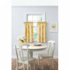 Better Homes and Gardens Botanical Garden Kitchen Tiers or Valance. Brand New