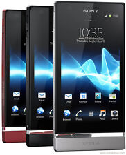 "Sony Ericsson Xperia P LT22i Android 8MP 4"" Unlocked Smartphone 16GB 3 colors"