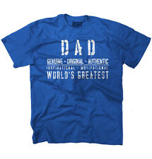 Worlds Greatest Dad Father Funny Shirt Humorous Gift Ideas T-Shirt Tee