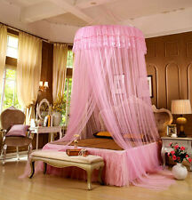 Dome Lace Bed Canopy Mosquito Net Twin Full Queen Bed Netting for Bedroom