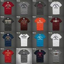 NWT ABERCROMBIE & FITCH MENS GRAPHIC TEE MULTI COLOR SIZE XL A&F