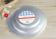 """New Fashion Round Silver Cake Boards 6"""" 8"""" 10"""" Free shipping"""