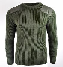 Commando Military Army Crew Neck Sweater Jumper S.A.S Police Security